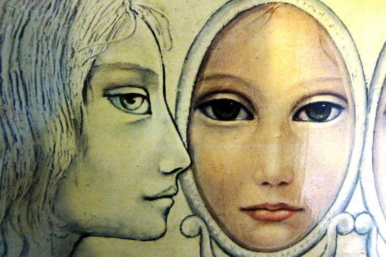 occhi di donna allo specchio
