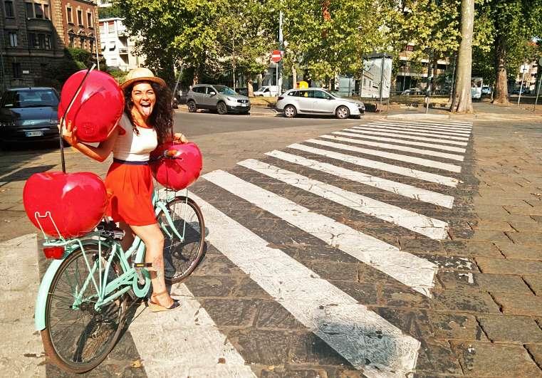 bicicletta e ciliegie